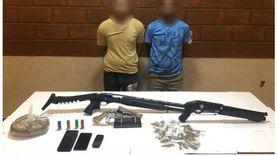 ضبط 3 عناصر الإجرامية بالقليوبية تخصصوا فى الإتجار بالمخدرات