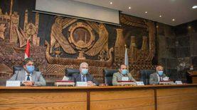 خطة لمستشفيات جامعة طنطا وصحة الغربية استعدادا للموجة الثانية من كورونا