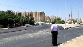 ضمن خطة رفع كفاءة الطرق: استكمال رصف المدخل الجنوبي لمدينة أسيوط