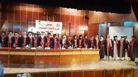 جامعة أسوان تحتفل بتخرج دفعة جديدة من كلية الطب