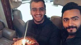 """تامر حسني ينعى مصطفى حفناوي: """"راح عند ربنا اللي أحن عليه من الدنيا"""""""