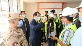 وزير البترول يتفقد مقر الوزارة الجديد بالعاصمة الإدارية الجديدة