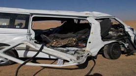إصابة 8أشخاص في حادثي تصادم بالمنوفية