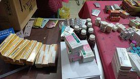 ضبط أدوية منتهية الصلاحية ومهربة في حملة على الصيدليات بالقليوبية