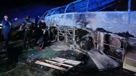 تحاليل «DNA» لضحايا أتوبيس أسيوط المتفحم  لكشف هوية الجثث