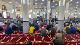 افتتاح المسجد الكبير في قرية القنان بالدقهلية بالزغاريد