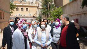 نائب محافظ الإسكندرية تتفقد مراكز تلقي لقاح كورونا