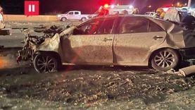 إصابة 9 أشخاص في حادث تصادم على الطريق الدولي بالغربية