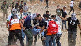 استشهاد فلسطيني برصاص الاحتلال الإسرائيلي وإصابة 320 آخرين