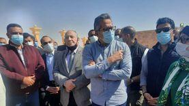 وزير السياحة والآثار يفتتح تطوير مقابر الحواويش بسوهاج