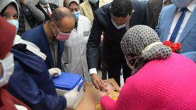 تطعيم 193 ألف طفل ضد شلل الأطفال بنسبة 97.6% بالأقصر