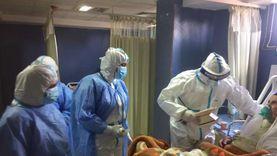 جلسات علاج طبيعي لمصابي كورونا بمستشفيات العزل في الشرقية