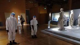 تعقيم دوري لمتحف شرم الشيخ: من الأسطح للممرات حتى أماكن الزائرين (صور)