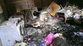 «شقى العمر راح».. تفحم شقة عروسين قبل يومين من زفافهما بالشرقية