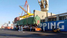 المنطقة الاقتصادية: وصول 12 عربة قطار كهربائي لميناء الأدبية