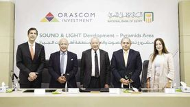 «الأهلي المصري» يتعاون مع «أوراسكوم» لتمويل رفع كفاءة «الصوت والضوء»