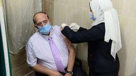 تطعيم 262 من المواطنين والفرق الطبية بلقاح كورونا بالإسماعيلية