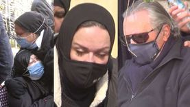 مشاهد مؤثرة في جنازة الدكتورة عبلة الكحلاوي