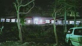 أحد شهود العيان يروي لـ«الوطن» تفاصيل خروج قطار العياط عن القضبان