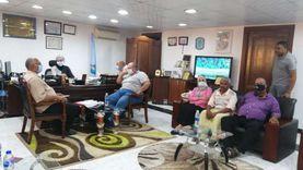 لجنة لغلق مخازن الخردة والورش المخالفة في سفاجا