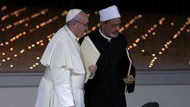 أعضاء لجنة تحكيم زايد للإخوة الإنسانية يلتقون البابا فرنسيس