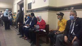 إقبال كثيف بمحكمة جنوب القاهرة للحاق بالسباق والرقم الأخير بالبرلمان