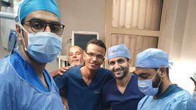 """فريق طبي يستخرج """"محمول"""" ابتلعه مريض نفسي منذ 7 أشهر: افتكرناه حشيش"""