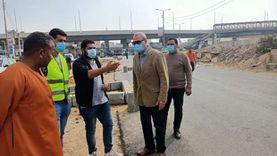 محافظ القليوبية يتفقد 4 مدن لمتابعة مشروعات التطوير وإزالة الإشغالات