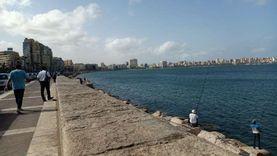 بالصور.. الإسكندرية تستعد للأمطار رغم الأجواء المشمسة