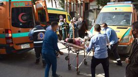 مصرع شاب وإصابة 3 في تصادم 3 سيارات ملاكي بالشيخ زايد