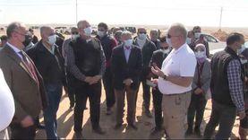وزيرا الزراعة والري يتفقدان المزرعة التجريبية للطماطم والبنجر بالمنيا