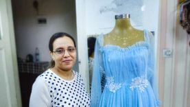 موضة عيد الفطر: عودة الفساتين و«التفصيل يغلب الجاهز» بالإسكندرية «صور»