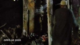 إصابة شخصين في حريق نتيجة انفجار أنبوبة غاز بالمنوفية (صور)