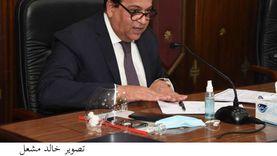 عبدالغفار يستعرض تقريرا لمشروعات جامعة بورسعيد بتكلفة 860 مليون جنيه