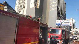 السيطرة على حريق في مخزن شمع بغرب شبرا الخيمة