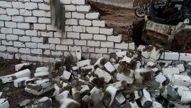 إزالة 65 حالة بناء مخالف على الأراضي الزراعية والحيز العمراني بالفيوم
