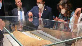 وفد برلماني في زيارة لمتحف الحضارة: دليل على عظمة مصر وتاريخها العريق