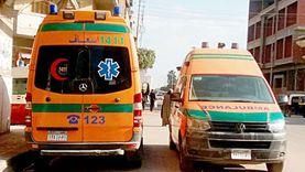 اصابة 5 أشخاص في إنقلاب ميكروباص بمفارق بحر البقر ببورسعيد