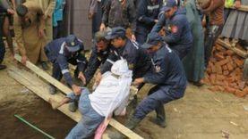 مصرع وإصابة 4 عمال في انهيار بئر صرف صحي بأسيوط