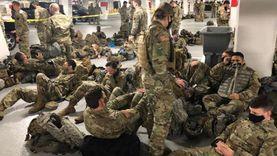 كورونا يضرب الحرس الوطني الأمريكي.. 5 آلاف جندي يستخدمون مرحاضا واحدا