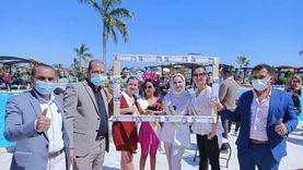 «زينا» الأوكرانية تفوز بلقب ملكة جمال شواطئ الغردقة