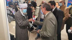 «ورود» في استقبال أول دفعة للتطعيم بكورونا في الإسماعيلية (صور)