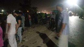 انتشال جثتين من ترعة في نجع حمادي والبحث عن آخرين بعد انقلاب سيارة