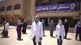 7 إصابات جديدة بكورونا في محافظة المنيا وشفاء 22 حالة