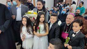سفير الفاتيكان يشهد الاحتفالية السنوية الأولى لمطرانية أبو قرقاص