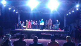 المسرح المتنقل يختتم فعالياته في وادي مندر بشرم الشيخ