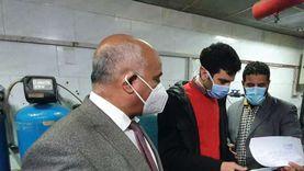 وكيل صحة الغربية يتفقد مستشفى كفر الزيات ويشيد بخدمة المرضى