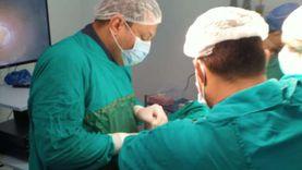 إجراء 30 عملية وانتهاء قوائم الانتظار في مستشفى رمد شبين الكوم