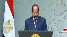 السيسي يهنئ الأمة المصرية والإسلامية بالمولد النبوي الشريف