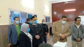 مدير الأمن ووكيل الصحة يتفقدان سير التطعيم بلقاح كورونا في سوهاج